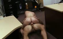 Latina babe gets a hard rough sex