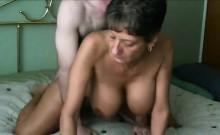 Beautiful Grandma having sex doggystyle