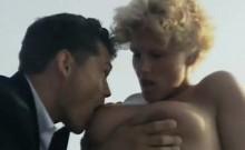 Sharon Mitchell, Jay Pierce, Marco in classic xxx video