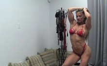 Muscular Beauty Maria G Looking Sexy