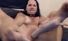 Webcam Slut Loves Thick Toys