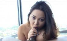 Amateur Asian cutie built for fucking