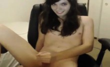 Hot young ladyboy Masturbates and cums on cam