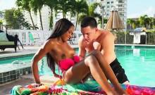 Ebony Beauty Indigo Vanity Has Oral Sex With Lover