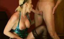 Milf loves to taste her butt that is own