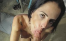 She Got Anal Face Fucked And Facial Creampie