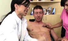 Dentists Give Handjob And Blowjob To Patient