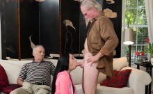 Beautiful Teen Crystal Rae Blows Her Fathers Boss