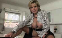 Adulterous British Mature Lady Sonia Shows Her Large Natural