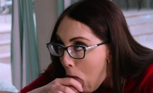 Nickey filled with warm jizz by her date