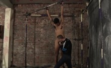 Ashton Bradley taking advantage of muscular Liam