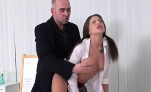 Pretty Schoolgirl Gets Seduced And Penetrated By Her Senior
