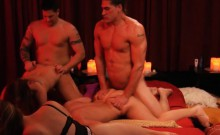 Swingers Swap Partners And Hot Groupsex In Playboy Room