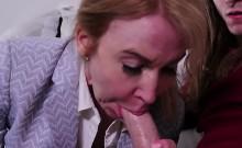 Hot Milf Blonde Sucks And Fucks Young Stud. Erica Lauren