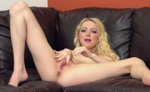 Sexy Blonde Teen Iris Rose Gets Fucked Hard LIVE