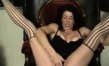 Lez amateur munching and fingering pussy