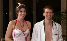 Amateur swingers role playing in reality show
