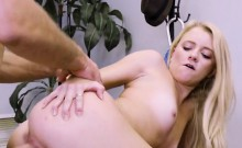 Young Blondie Riley Star Gets Banged And Creamed
