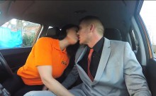 Driving student Candy Kane gets deep fucking in the car