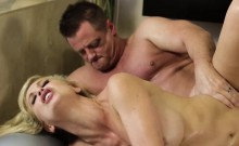 Hot and grateful Cherie DeVille grants sex to Eric Masterson