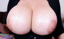 Busty Gal With Huge Boobs Munches A Big Hard Cock