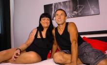 Sextape Germany - Tattooed German Fucked In A Couple Tape