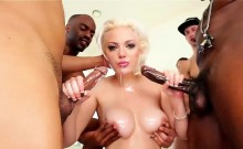 Jenna Ivory Sucks On Their Hard Dicks