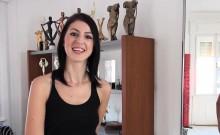 18yo Melinda Assfucked On Casting