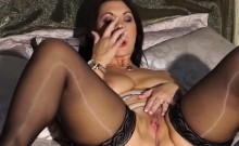 European MILF Playing with Herself