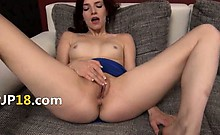 Beautiful polish model Leila gaping hole
