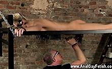 Amazing gay scene Draining A Slave Boys