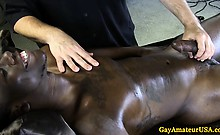 Black gaysex amateur cocksucked deeply