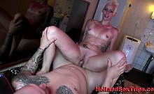 Real Hooker Sucks Cock And Gives Footjob