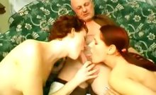 Hot Redheads Pussy Tease