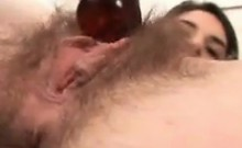 Young Hairy Bitch Getting Fingered