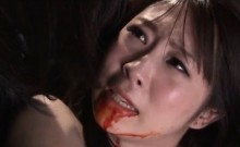 Dirty Japanese guys using teen delicate girls as sex slaves