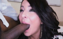 Kali Ability To Sucked That Humongus Cock Deep Throat