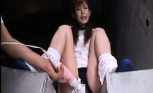 Japanese Gets Toyed With And Fucks POV