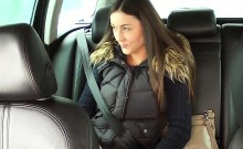 Teen in panties banged in taxi