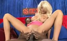 Blonde Whore From Britain With A BBC