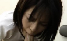 Sayuri wants cock inside her wet cherry