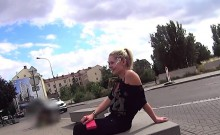 Charming czech teenie was seduced in the mall and nailed in