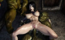 XXX 3D Solution of Elegance Orc Routine