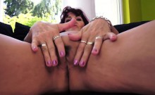 Pussy rubbing grandma