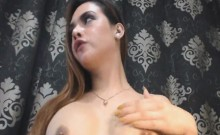Big Tits Tranny Babe Webcam Show