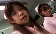 Japanese teen in uniform sucks POV cock