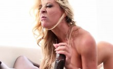 Blonde Cherie DeVille squirted hard and fast