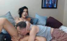 Big Tits Tranny Does Hot Oral with Sugar Daddy