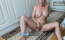 Blonde amateur public sex and jizzed on her huge boobs