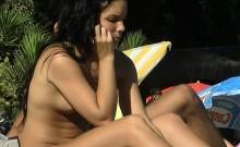 The voyeur webcam which is working on the nudist beach